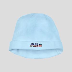 American Alia baby hat