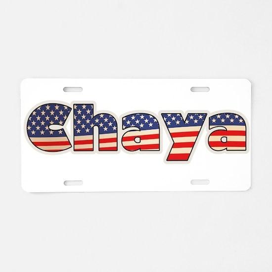 American Chaya Aluminum License Plate