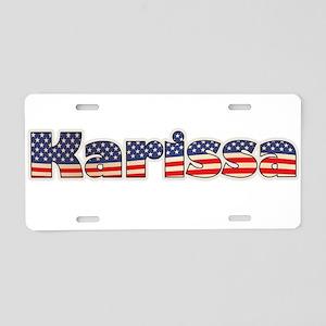 American Karissa Aluminum License Plate