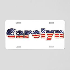 American Carolyn Aluminum License Plate