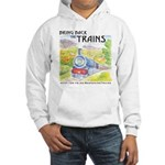 Bring Back the Trains Hooded Sweatshirt