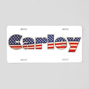 American Carley Aluminum License Plate
