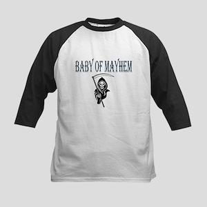Blue Baby of Mayhem Kids Baseball Jersey