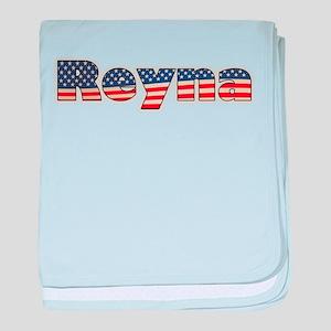 American Reyna baby blanket