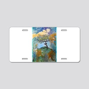 Tree of Life, art, Aluminum License Plate