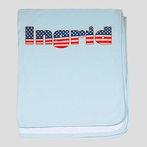 American Ingrid baby blanket
