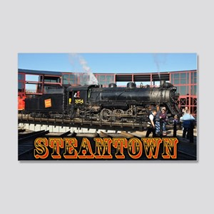 Train Photos of Steamtown- 22x14 Wall Peel