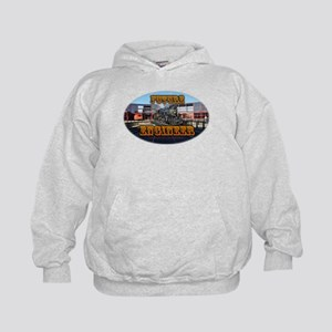 Future Engineer(c) - Train - Kids Hoodie