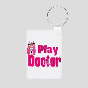 Play Doctor Aluminum Photo Keychain