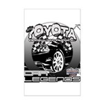 Toyota Mini Poster Print