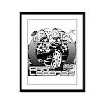 Toyota Framed Panel Print