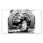 Toyota Sticker (Rectangle)