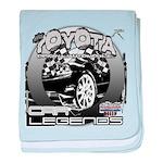 Toyota baby blanket
