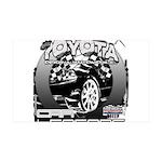 Toyota 38.5 x 24.5 Wall Peel