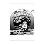 Mazda Mini Poster Print