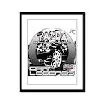 Mazda Framed Panel Print