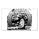 Mazda Sticker (Rectangle 50 pk)