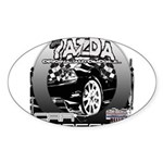 Mazda Sticker (Oval 50 pk)