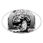 Mazda Sticker (Oval 10 pk)