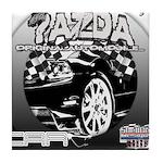 Mazda Tile Coaster