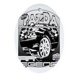 Mazda Ornament (Oval)