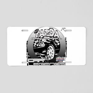 Mazda Aluminum License Plate