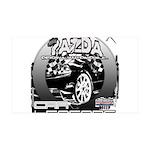 Mazda 38.5 x 24.5 Wall Peel