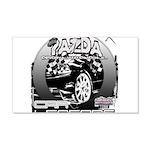Mazda 22x14 Wall Peel