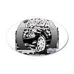 Mazda 22x14 Oval Wall Peel