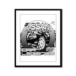 Nissan Framed Panel Print