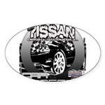 Nissan Sticker (Oval 10 pk)