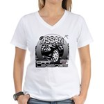 Nissan Women's V-Neck T-Shirt