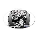 Nissan 38.5 x 24.5 Oval Wall Peel