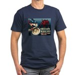 Occupy Wall St Bullhorn Men's Fitted T-Shirt (dark