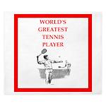 tennis gifts King Duvet