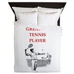 tennis gifts Queen Duvet