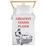 tennis gifts Twin Duvet Cover