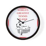 tennis gifts Wall Clock