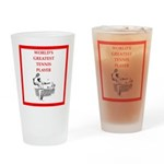 tennis gifts Drinking Glass
