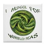Whirled Peas Tile Coaster