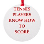 tennis gifts Ornament