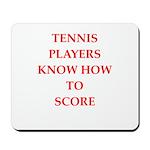 tennis gifts Mousepad