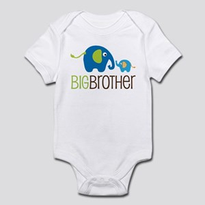 Elephant Big Brother Infant Bodysuit