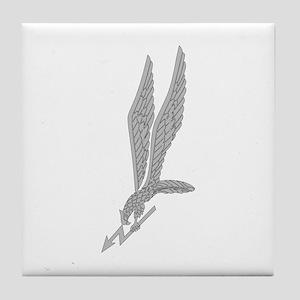 GROM Eagle - Silver Tile Coaster
