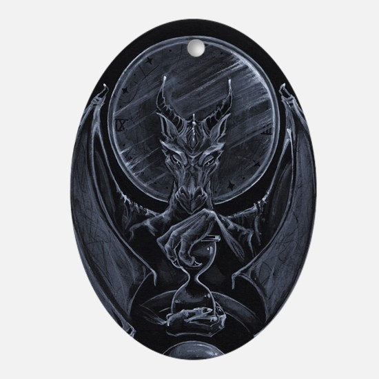 Tome Hoarder Ornament (Oval)