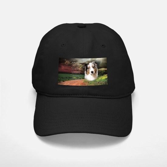 """""""Why God Made Dogs"""" Australian Shepherd Baseball Hat"""