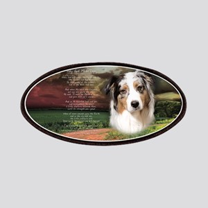 """Why God Made Dogs"" Australian Shepherd Patches"