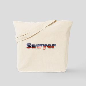 American Sawyer Tote Bag