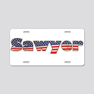 American Sawyer Aluminum License Plate