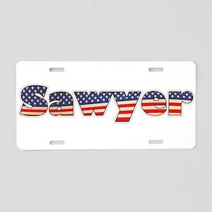 American Sawyer Aluminum License Plate